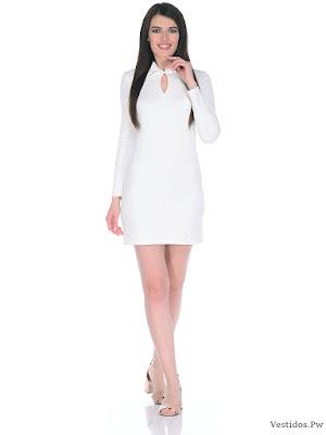 Imagenes de vestidos blancos y cortos