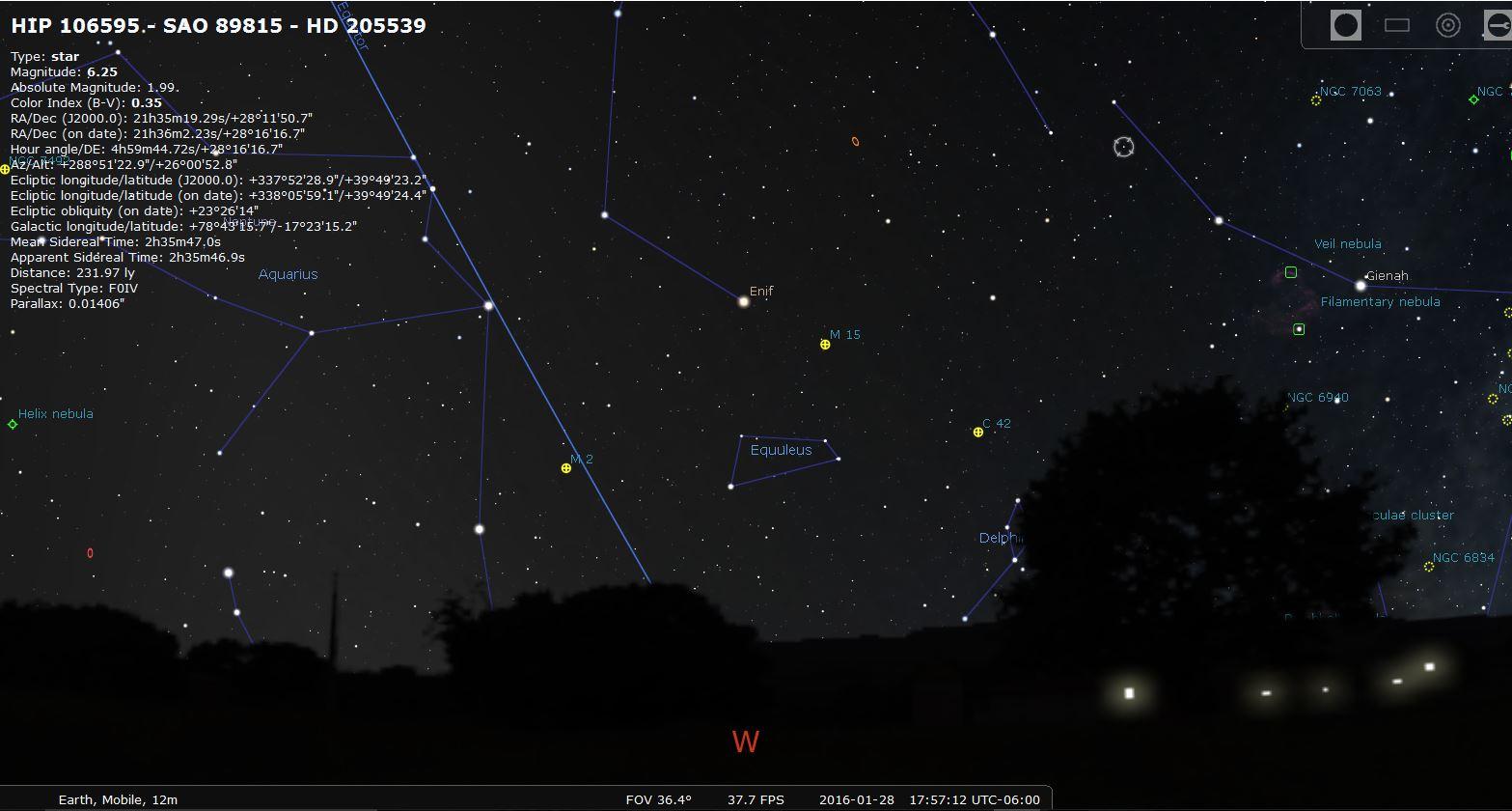 cartes du ciel vs stellarium