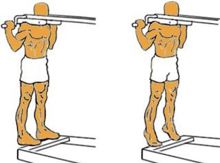 extensiones tobillo para el salto vertical