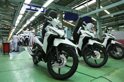 New Honda Revo X siap Mengaspal