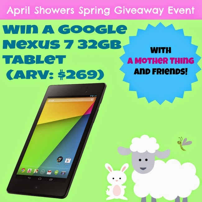 Spring Giveaway! Google Nexus 7 32GB Tablet - Housewife2Hostess