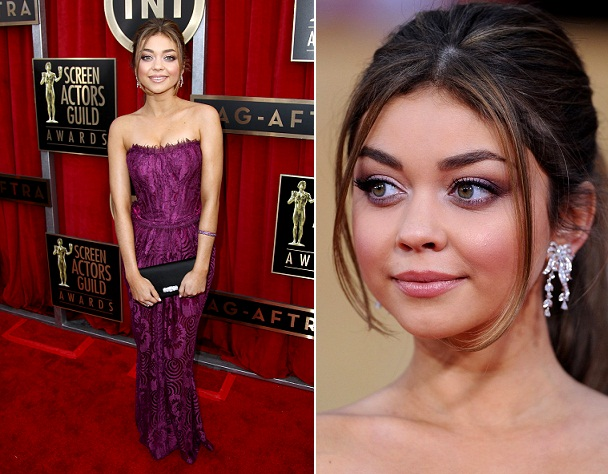 Sarah Hyland - Celebrity Earrings Trend 2013