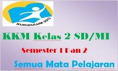 KKM Kelas 2 SD/MI Kurikulum 2013 Semester 1 Dan Semester 2 Terlengkap