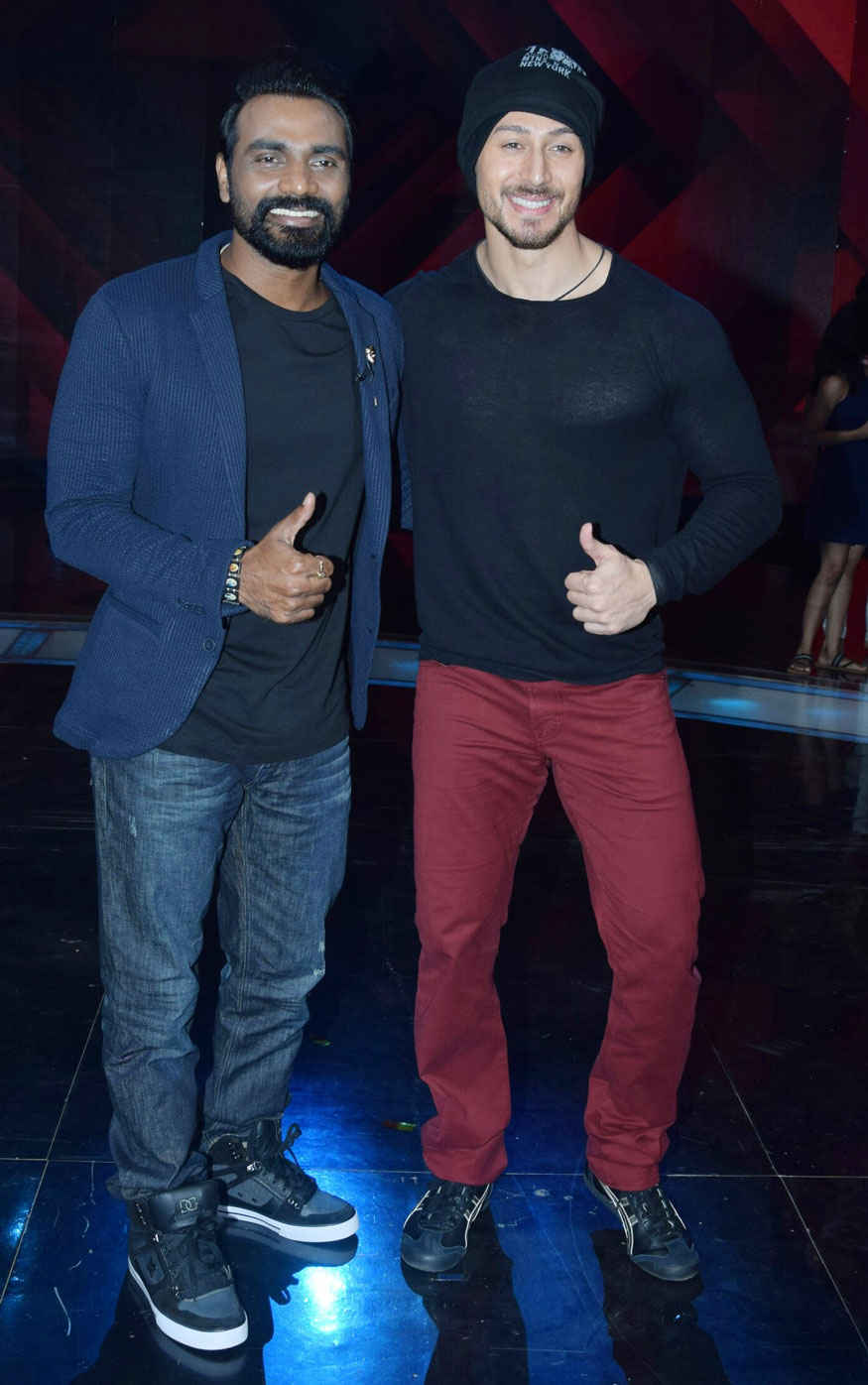 Tiger Shroff at Dance Plus 3 Show In Filmcity