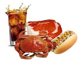 Makanan pantangan penderita asam urat