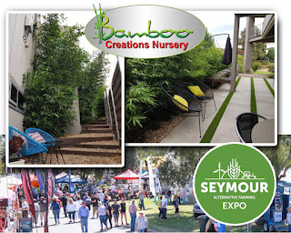 Bamboo Creations Victoria are attending the Seymour farming expo