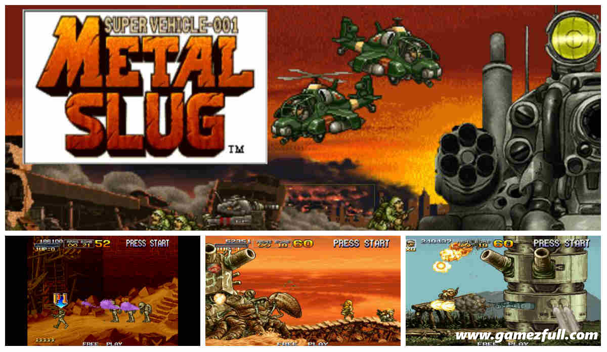 Metal Slug Anthology PSP Español