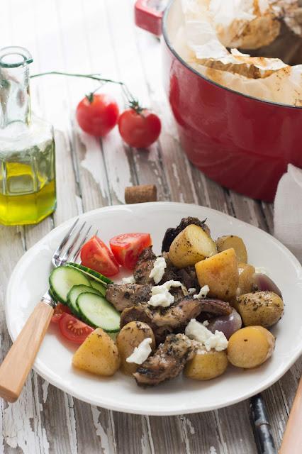 Kleftiko - Agneau et pommes de terre à la grecque