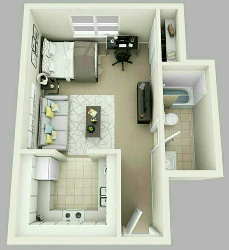Desain Interior Rumah Minimalis Type 30