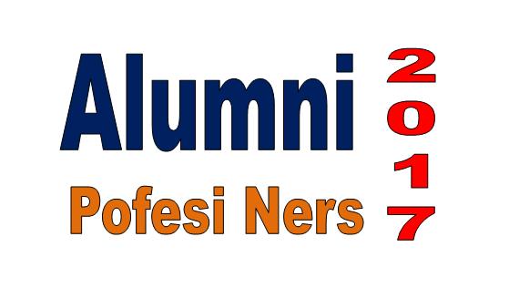 Daftar Alumni Profesi Ners Angkatan ke 3 Wisuda Tahun 2017