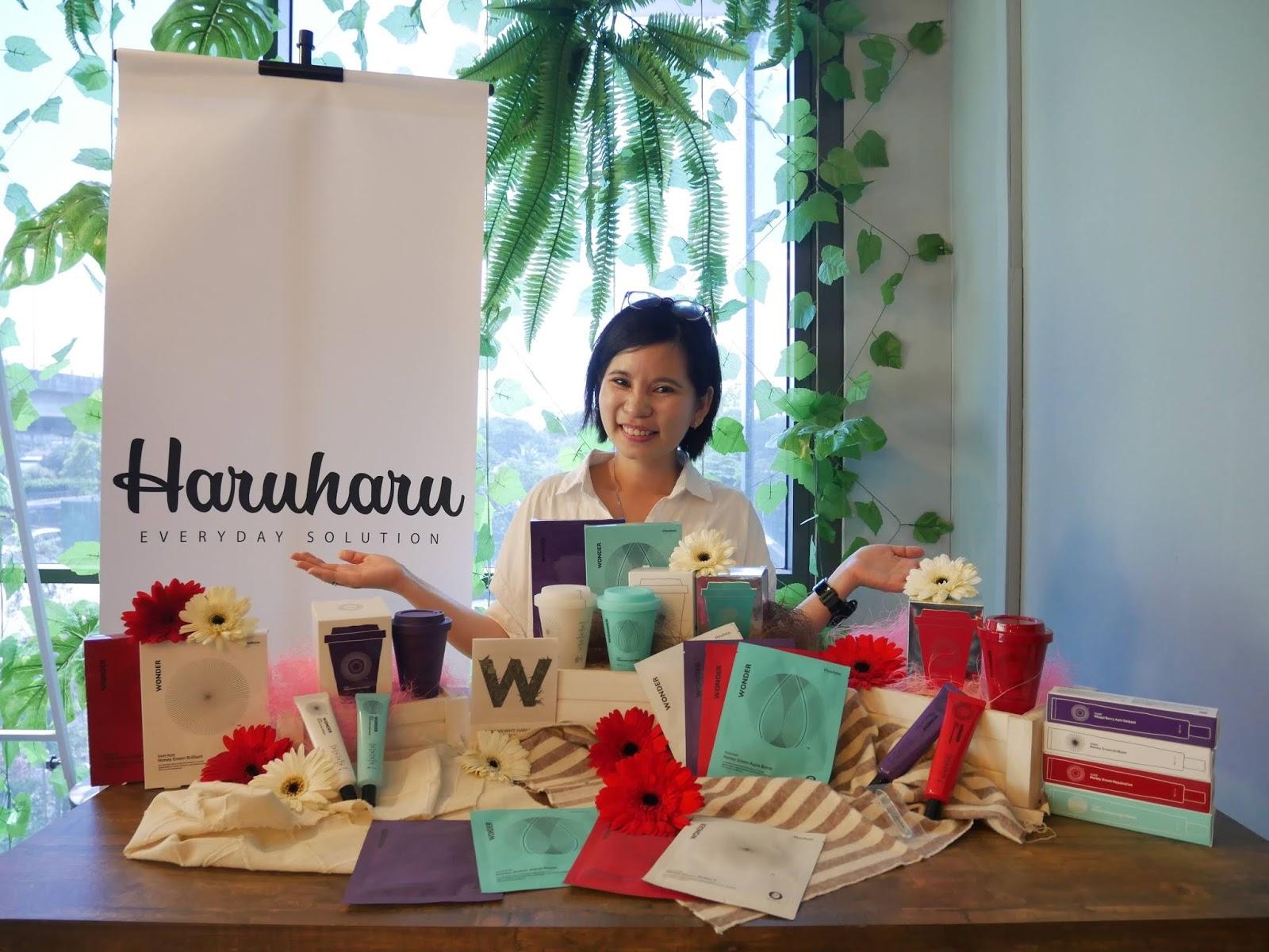 Haruharu Skincare Series - The First Korean Skincare Using