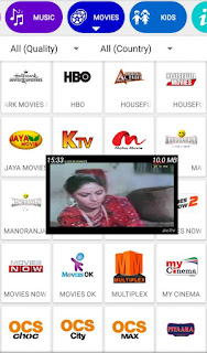 Latest Android Hd App for watching all Country Tv Channels