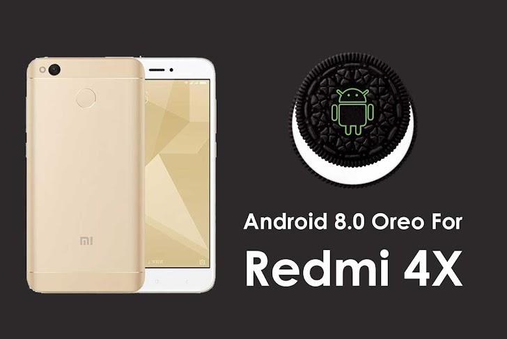 Cara Install Android Oreo 8.1 Pada Redmi 4x