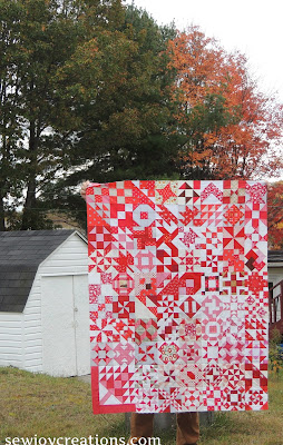 150 Canadian women quilt top 76 blocks