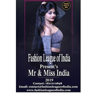 Fashion League Of India: Upcoming Beauty Pageants In India 2019
