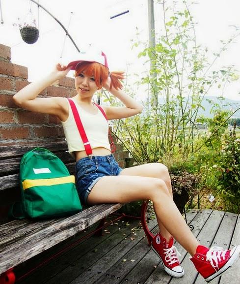 Pokemon Cosplay: Those Cute Pokemon Misty Cosplay Girls