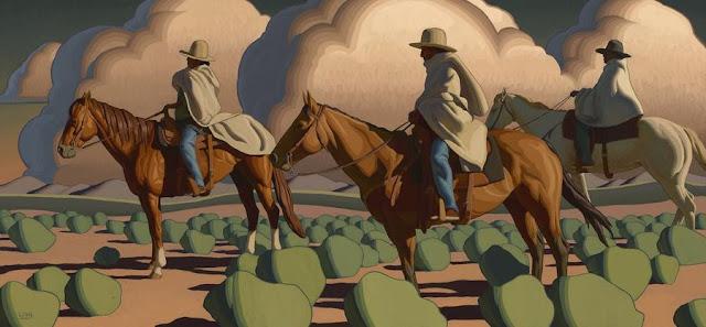 """Logan Maxwell Hagege, """"Lost Highway"""" - 2018   imagenes obras de arte bellas, bonitas, pinturas, cuadros, art pictures, cool stuff"""