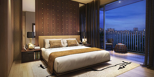 Westwood Residences - Bedroom