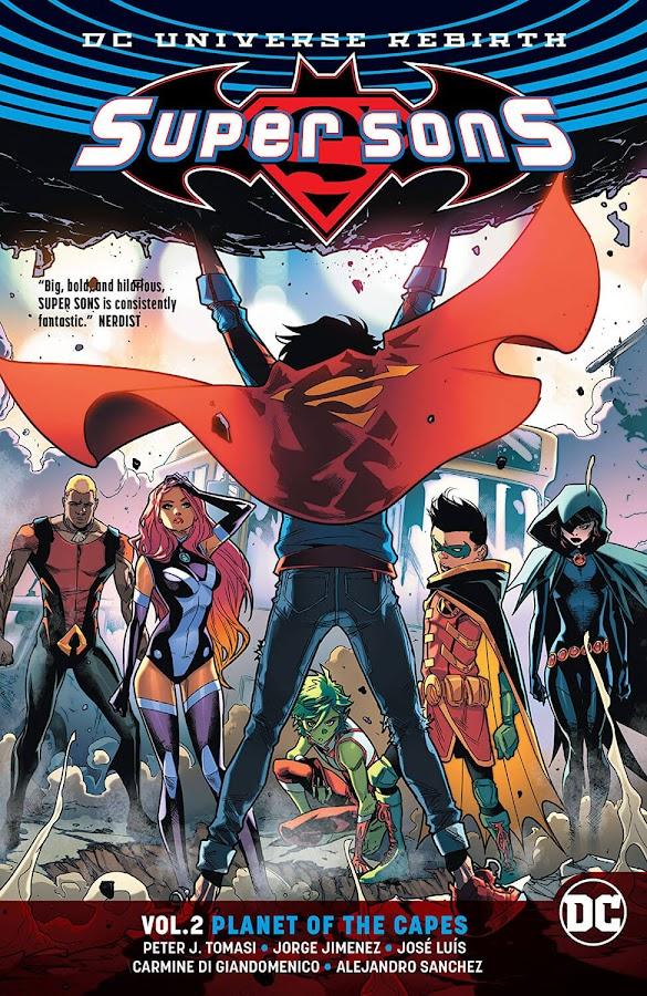 super sons dc comics teen titans