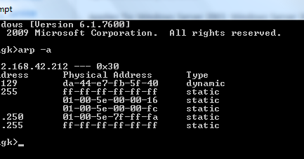 Where Are Mac Addresses Stored For Future Reference?