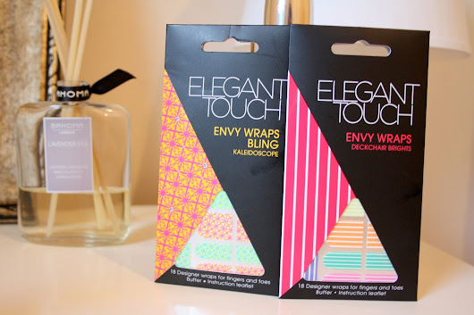 Closed - Giveaway: Elegant Touch Envy Nail Wraps