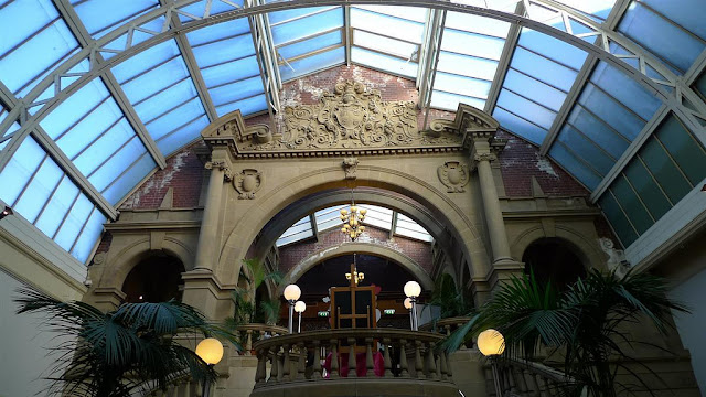 Harrogate Royal Baths Winter Gaden.