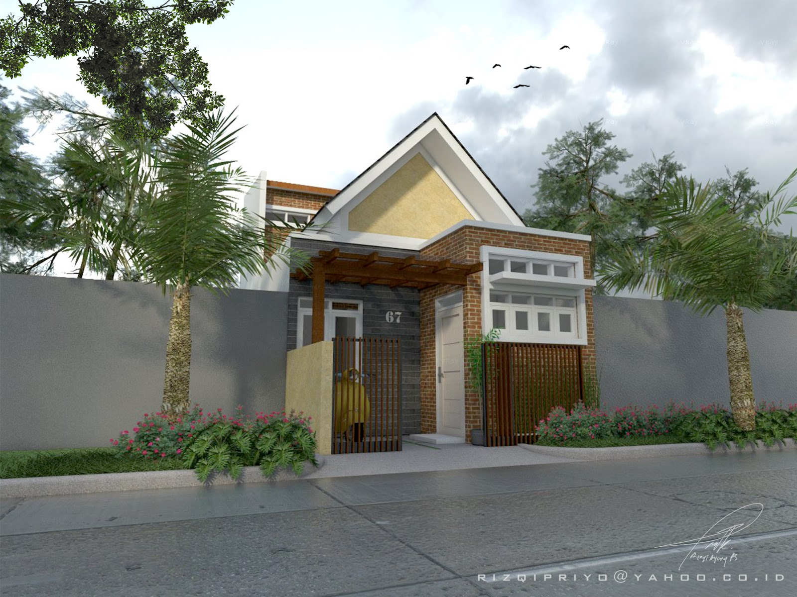 Desain Rumah Mungil  Semarang  Desain Rumah Online