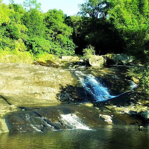 Cachoeira de São Miguel, em Biguaçu