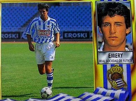 Unai Emery từng là cầu thủ có tên trong các câu lạc bộ Real Sociedad, Toledo, Racing Ferrol, Leganés và Lorca Deportiva