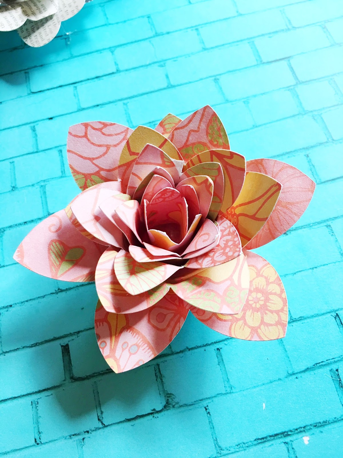 Four Free Rolled Paper Flower Silhouette Design Files Silhouette