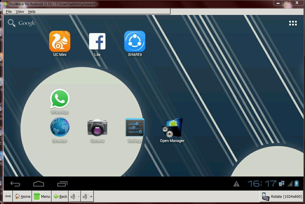 Youwave Emulator Android Pc Ringan Bocah Kere Aktif