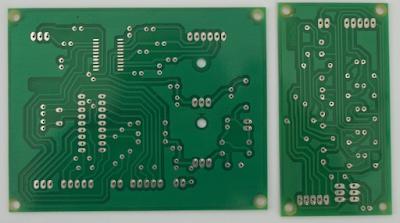 circuito impreso profesional lado de las soldaduras.