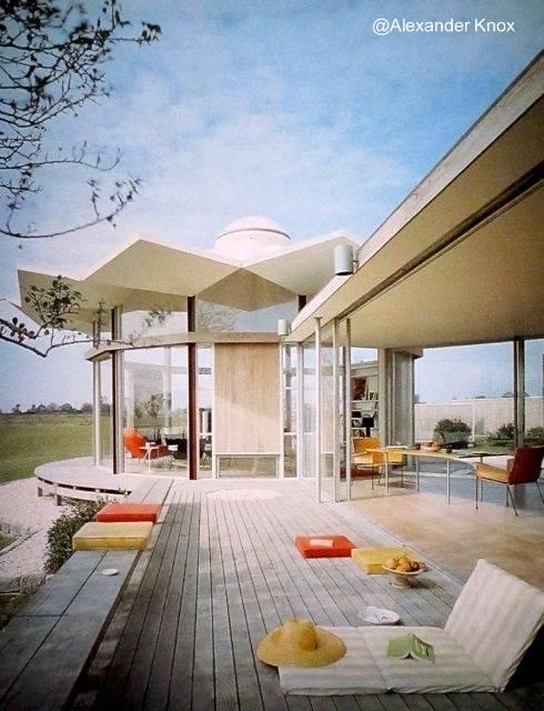 Casa moderna Mid Century en Estados Unidos 1959