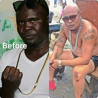 The transformation! See 7 photos of Bukom Banku's skin bleaching process –  Ghanafuo.com