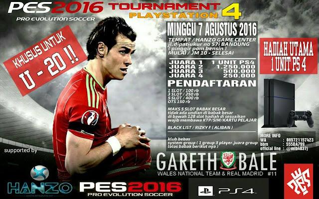 Info Kompetisi di Bandung Agustus 2016 Khusus U-20