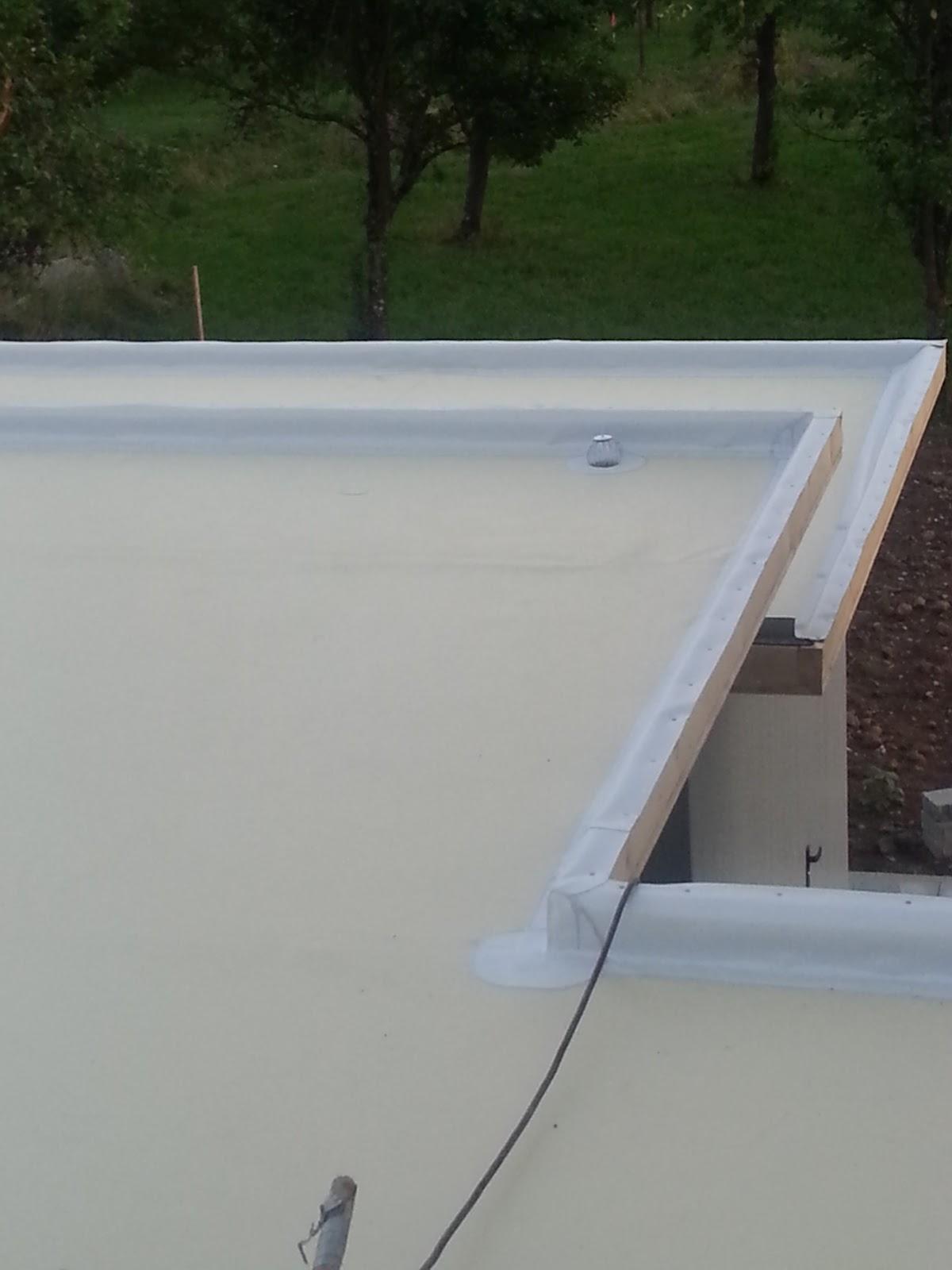 wir bauen ein okal haus carport dachabdichtung teil 3. Black Bedroom Furniture Sets. Home Design Ideas