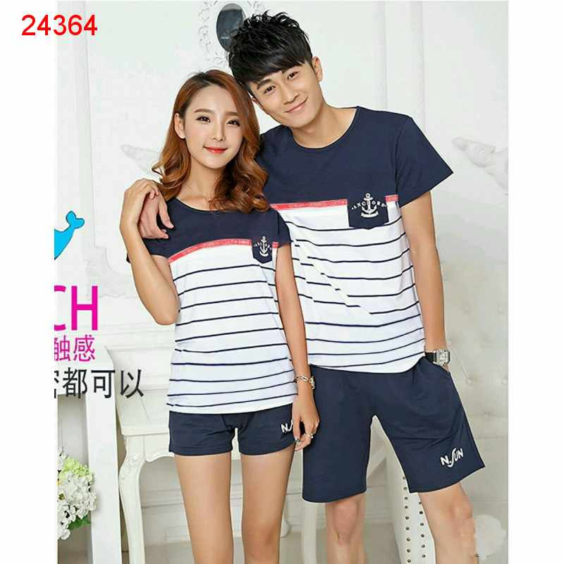 Jual Baju Couple PD Anchor - 24364