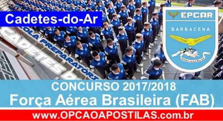 Apostila FAB 2017 Cadetes de Ar (EPCAR)