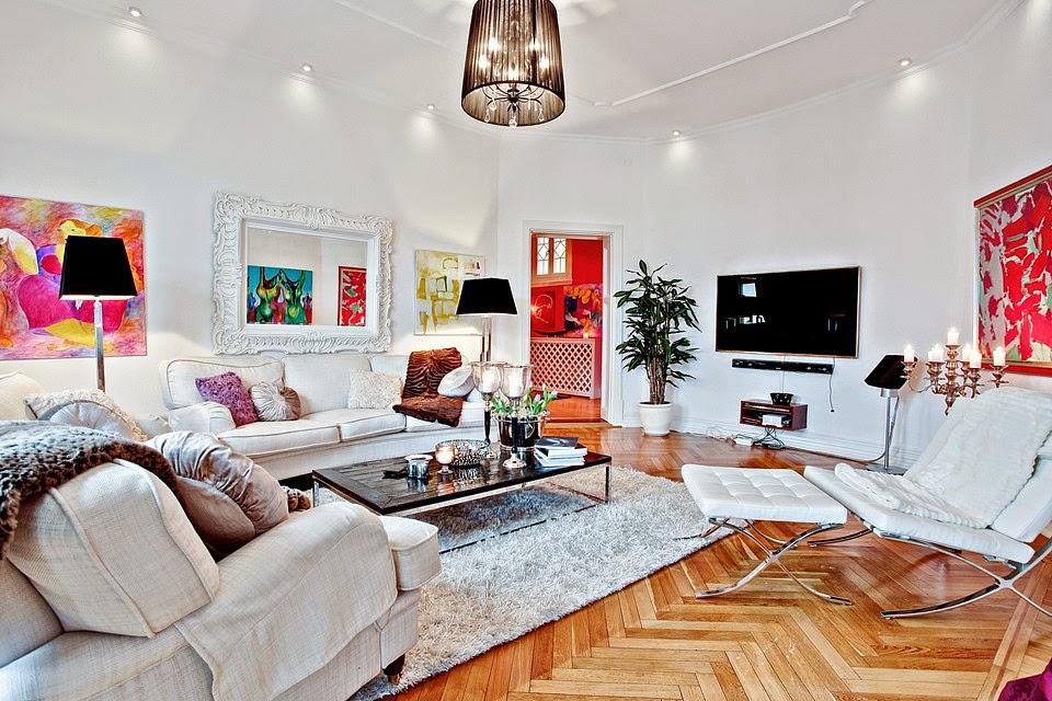 hermosos salones de apartamentos Hogares Frescos Apartamento Bellamente Renovado Con