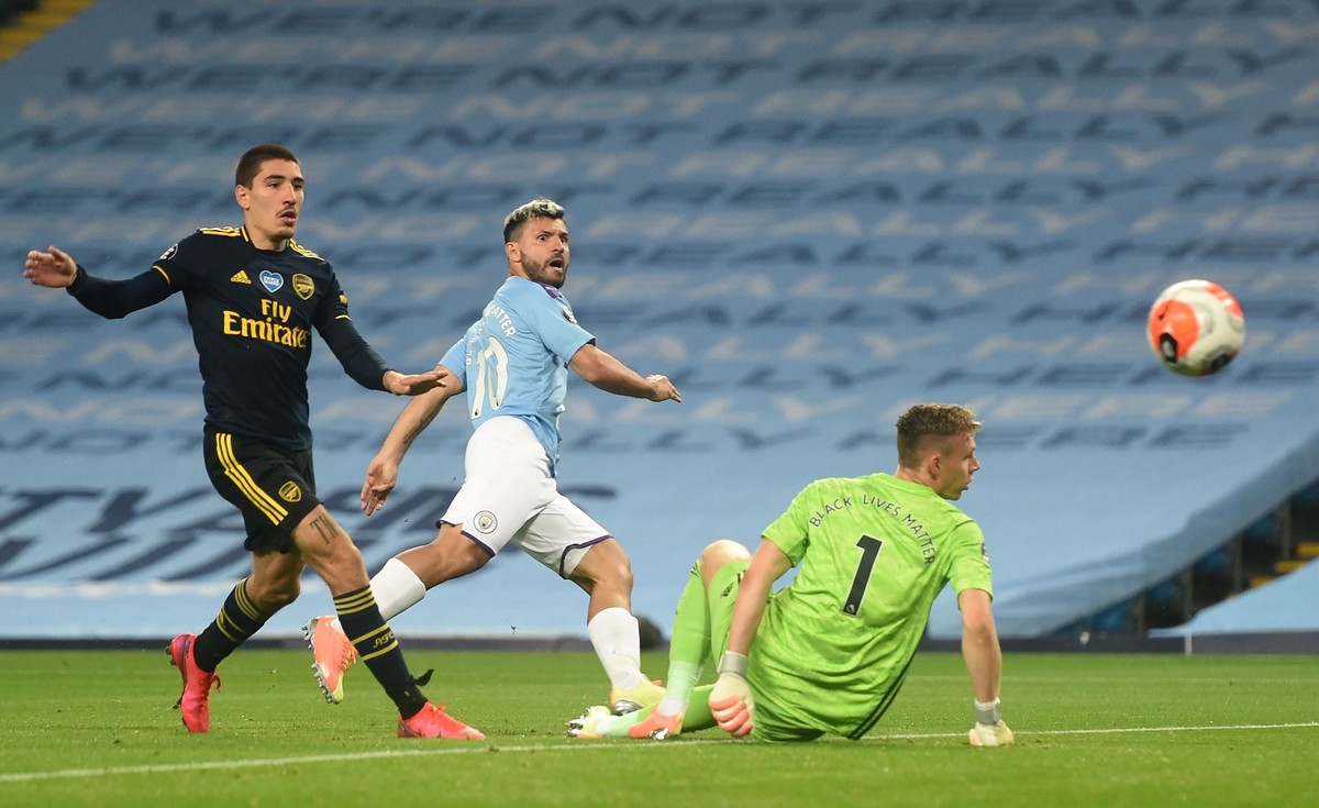 Premier League: Manchester City goleó a Burnley, pero lamentó la lesión del Kun Agüero