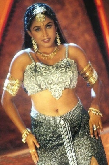 Indian Hot Actress Sexy Ramya Krishna Spicy Hot Navel -1952