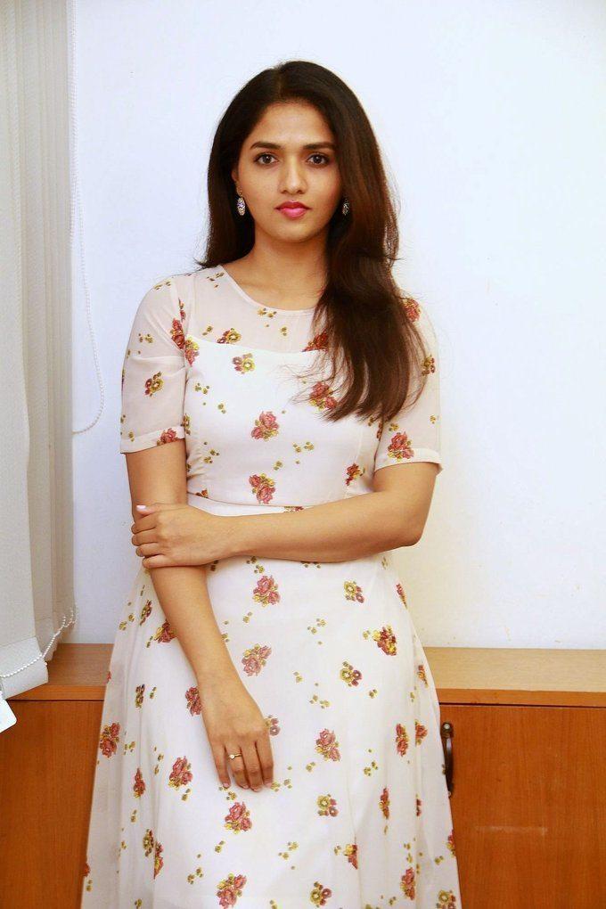 Punjabi Actress Sunaina Singh Long Hair Smiling Face Close Up Stills