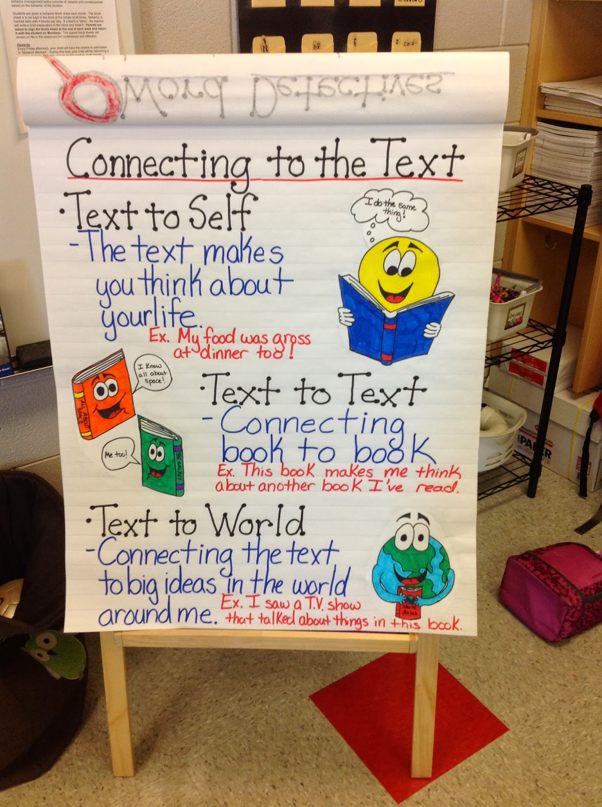 Making Text To Self Connections