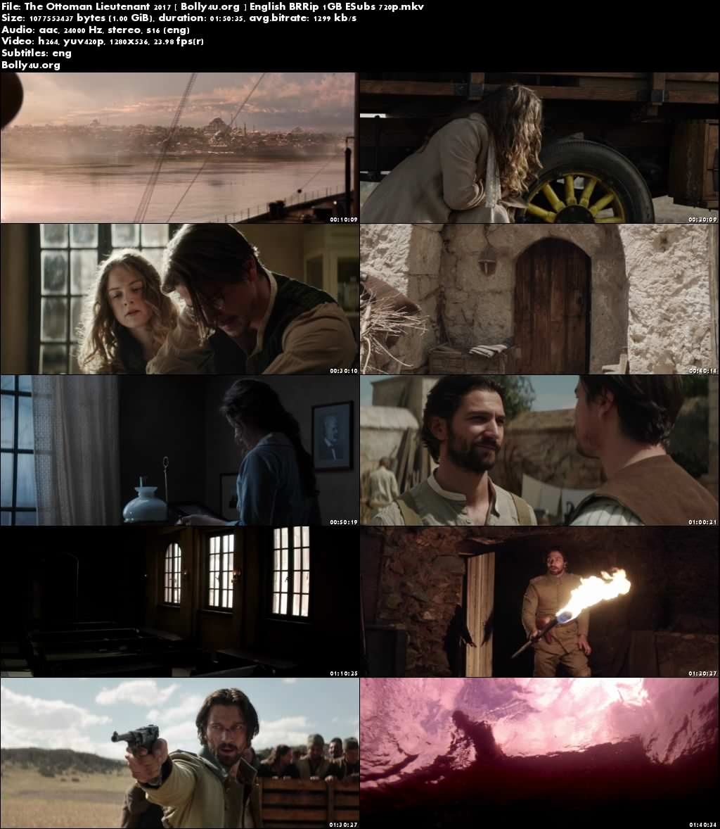 The Ottoman Lieutenant 2017 BRRip 1GB English ESubs 720p Download
