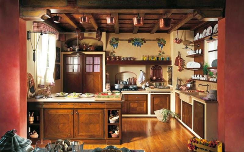 cocina estilo rstico