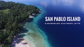 blue sea, trees, islan, forest, ocean san pablo island hinunangan southern leyte
