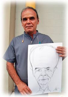caricaturista para evento em Ipojuca
