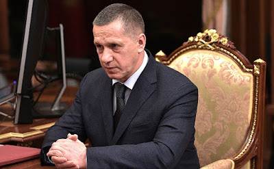 Deputy Prime Minister and Presidential Plenipotentiary Envoy to the Far Eastern Federal District Yury Trutnev.