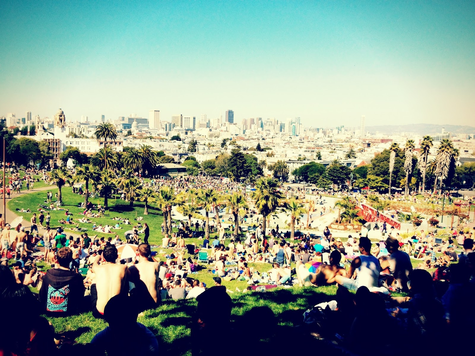 D is for: Dolores Park & BiRite Creamery
