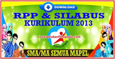 SILABUS DAN RPP KURIKULUM 2013 SMA SEMUA MAPEL REVISI 2018